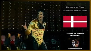 Michael Jackson Live In Copenhagen 1992: Wanna Be Startin' Somethin' - Dangerous Tour