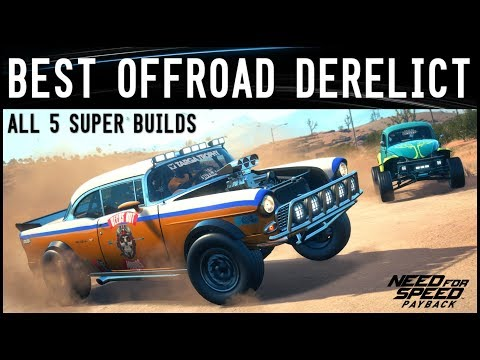 NFS Payback - BEST OFFROAD DERELICT SUPER BUILD!!!