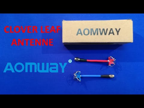 AOMWAY antenne Clover Leaf      RECENSIONE      ITA