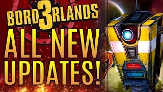 Borderlands 3 - All New Updates! New Teases From Gearbox!  What Is Going On?