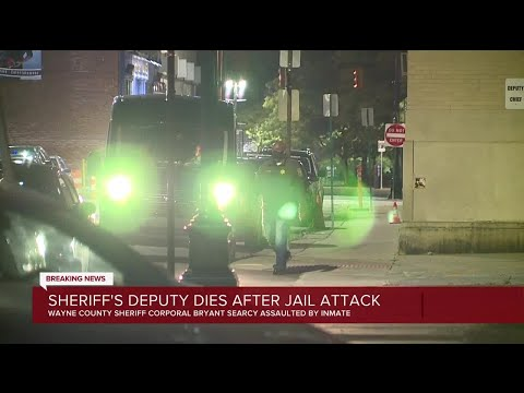 Wayne County Sheriff's Deputy dies after inmate attack