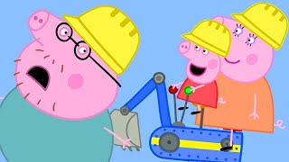 Peppa Pig Official Channel   Peppa Pig Goes to Digger World! Parents' Day