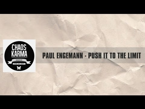 Paul Engemann - Push it to the limit (1983)