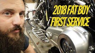 2018 Fat Boy 1000 mile service