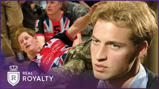 The Scrutinised Life Of Harry & William | Prisoners Of Celebrity | Real Royalty