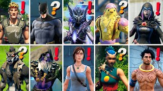 ALL NEW 50 Bosses, Mythic Weapons, Exotic Items, Keycard Vault & NPC Locations in Fortnite Season 6