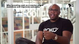 Why investing cash as a mentor aligns incentives and improves outcomes