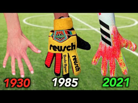 Testing Goalkeeper Gloves from 1930 to 2021 – how much have they changed?