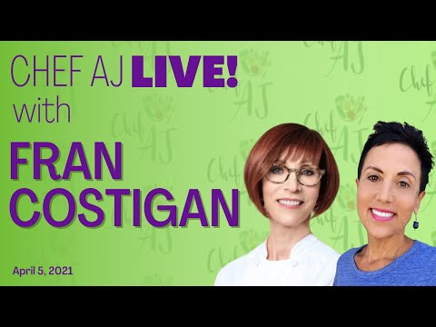 VEGAN Nut-FREE Pastry Cream! | Interview and Cooking with Fran ...