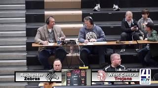 Rochester Boys Basketball vs West Central