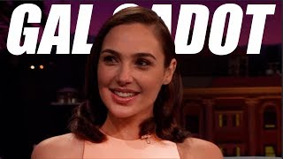 Gal Gadot FUNNY MOMENTS (Wonder Woman)