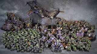 Warhammer World Record? Painting 220 Orks in just 7 days
