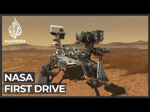 Mars rover travels 6.5 metres in 'flawless' first drive
