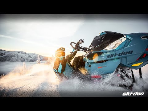 2019 Ski-Doo Summit X 154 850 E-TEC PowderMax Light 2.5 w/ FlexEdge HA in Unity, Maine - Video 1