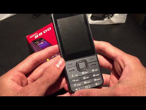 SERVO V9500 2.8 Inch HD Large Screen 1800mAh P283 4 Sim Cards