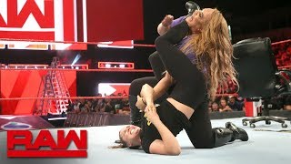 The Baddest Woman on the Planet uses her signature submission hold on The Irresistible Force before WWE Money in the Bank. Get your first month of WWE Network for FREE: http://wwenetwork.com