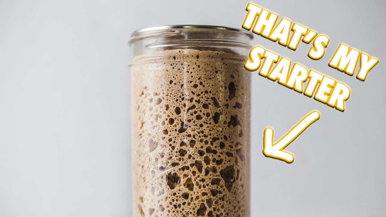 A video explaining how to create a sourdough starter.