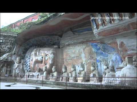 Schatzkammerberg, Dazu, Chongqing - Chin