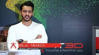 Bilal Munir, Fitness Instructor, endorses the Fit3D Test