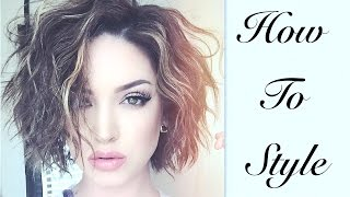 Short & Wavy | Effortless Hair Tutorial