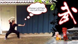 Lian Huan Quan 连环拳 - Wushu Tutorial - Wushu Shaolin Kung Fu Online Review