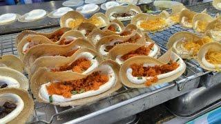 Thai Street Food in Bangkok, Thailand. The Night Stalls