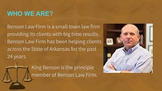 Lawyer Jonesboro AR - Benson Law Firm