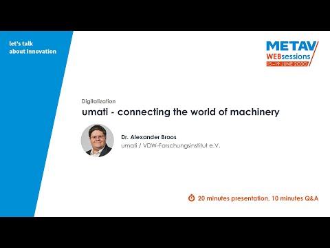 METAV Web-Sessions | umati / VDW-Forschungsinstitut e.V.