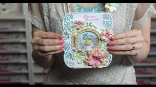 3 EZ Steps to Create a Stamped Shaker Card