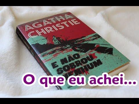 Livro Viajante - E NÃO SOBROU NENHUM - Agatha Christie