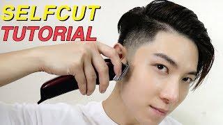 EASY HAIRCUT BY YOURSELF | TAPER FADE + KOREAN TWO BLOCK CUT TUTORIAL | 自己剪頭髮 | ISSAC YIU