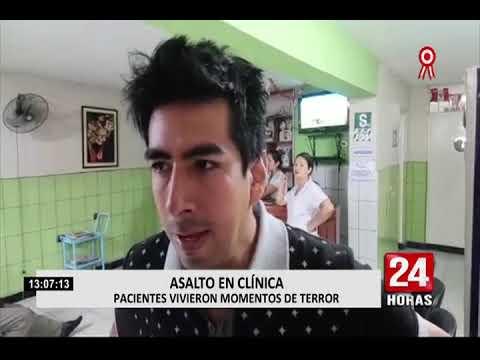Tumbes: cámaras de seguridad registran violento asalto a centro médico