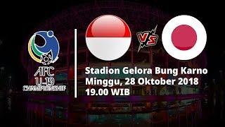 Live Streaming RCTI Babak Perempat Final Piala AFC U-19, Indonesia Vs Jepang Pukul 19.00 WIB