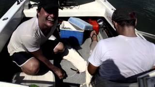 preview picture of video 'Pesca Surubí. 35 Kgs. Ituzaingó, Corrientes. Argentina'