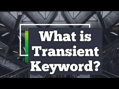 What is Transient Keyword in Java? | Why we use Transient Keyword in java?