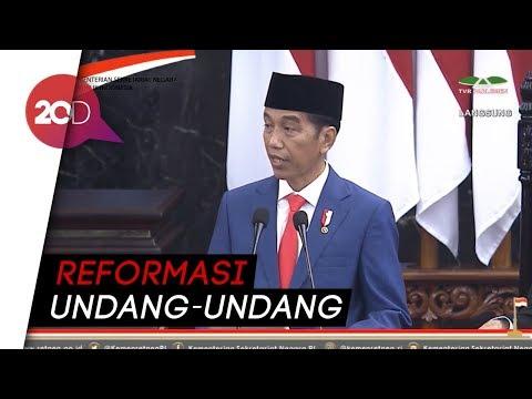 Jokowi: Undang-undang yang Menyulitkan Rakyat Harus Dibongkar!