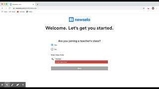 How to Sign Up For NEWSELA with a CODE
