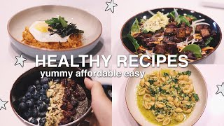 What I Eat In College | College Healthy Meal Recipes Ideas