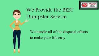 Pacific Roll Off Dumpsters |808-445-9454