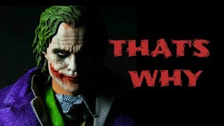 I'M ALWAYS CALM AND SILLENT ~ JOKER QUOTES WHATSAPP STATUS VIDEO