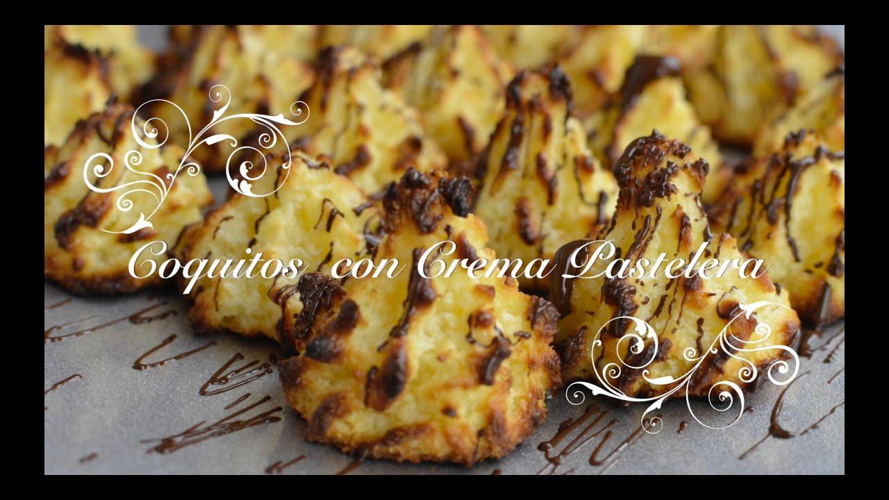 Coquitos con Crema Pastelera | Recetas con Crema Pastelera por chef de mi casa.com