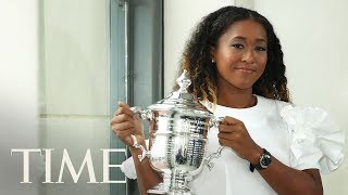 Naomi Osaka Explains What She Was Feeling During The U.S. Open Trophy Ceremony   TIME
