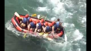preview picture of video 'Rapido Rafting 29.08.2014 in Köprülü Canyon National Park, Turkey'