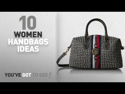Top 10 Tommy Hilfiger Handbag [ Winter 2018 ]: Tommy Hilfiger Handbag for Women Jaden Satchel,