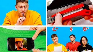 EPIC SCHOOL FAILS AND HACKS AND OTHER FUNNY MOMENTS