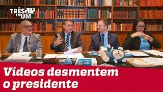 Bolsonaro diz nunca ter chamado COVID-19 de gripezinha