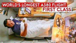 World's Longest A380 Flight in First Class – Is It Worth It?