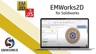 Part 4 - Spoke Motor No-Load Flux Linkage/ Induced Voltage Analysis using EMWorks2D for SOLIDWORKS