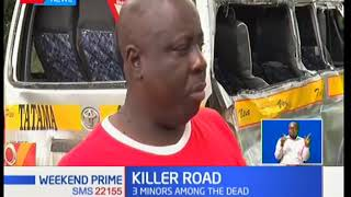 6 People die in an accident at Mariakani along Mombasa-Voi road