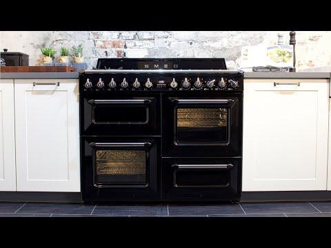 Smeg Victoria 110 cm TR4110 Retro Standherd | vintage range cooker